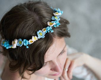 "Crown ""Forget-me-not"""