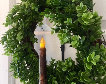 Faux boxwood wreath, boxwood wreath, boxwood, greenery wreath, wreath & hanger combo, spring wreath, wall wreath, door wreath, summer wreath
