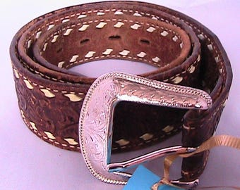 Size 38 Classic Western Leather belt
