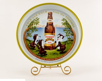 Stegmaier Beer Tray | Bar Serving Tray | Vintage Barware