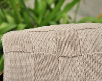Brown squares - Astara Collectin by Pink Lemonade - 100% Cotton