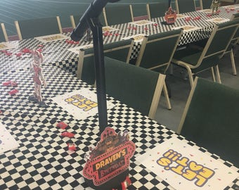 Microphone Party Centerpiece