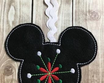 Felty Whimsical Ornament Design