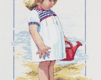 Summer Afternoon - Counted Cross Stitch Kit # 029-0060 - Janlynn