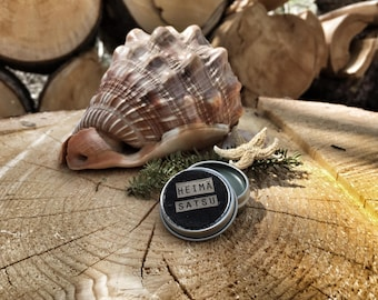 Solid perfume SATSU - vetivier, satsuma, Balsam fir, lavender solid perfume