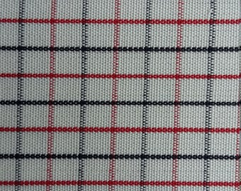 1950s check cotton fabric, Horrockses Fashions