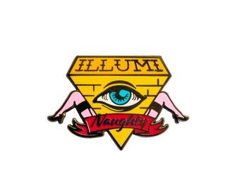 Illumi-naughty Pin