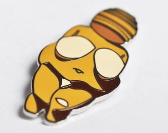 Venus of Willendorf Hard Enamel Pin