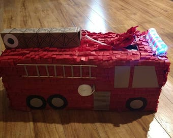 Firetruck Piñata! FREE SHIPPING