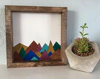 Mountain Range Sign