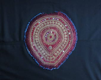Afghan Pashtun bicycle seat cover