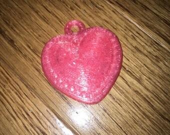 3D Printed Heart Pendant