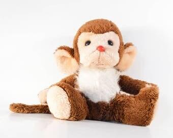 Vintage Heunec Monkey Plush Stuffed Toy