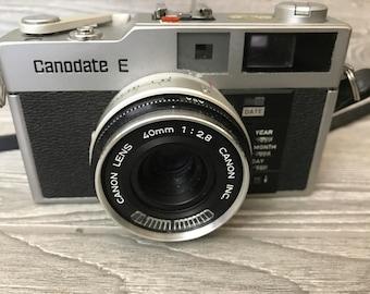 Canon Canodate E Camera w/ Case