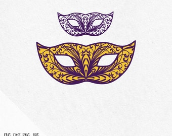 Mardi Gras mask svg, Mardi Gras svg, Fleur de lis svg, Mardi Gras carnival, svg files silhouette, svg files for cricut, svg designs