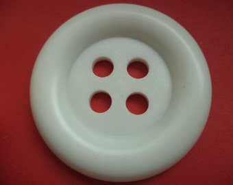 large button white 50 mm (396) shell buttons buttons 5 cm