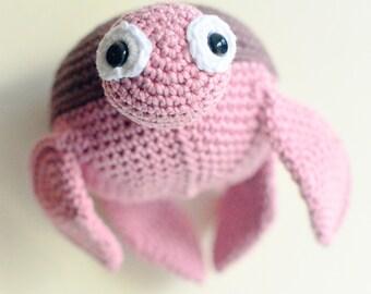 Crochet Turtle Toy