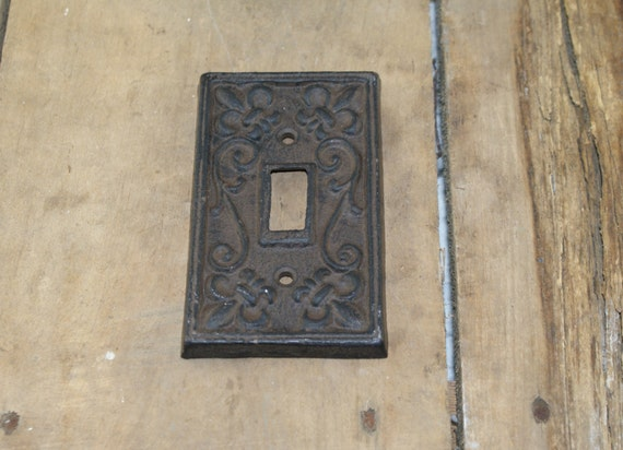 Cast iron light switch plate cover from libertyhomed on