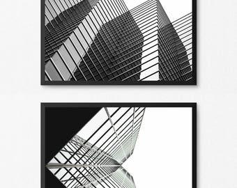 Urban Photo, Modern Photography, Architecture Print, Architecture Photo, Modern Art, Black and White Photo, Minimalist Art, Digital Print