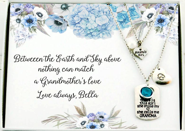 Gifts for grandma gifts grandmother birthday personalized for Birthday gifts for grandma from granddaughter