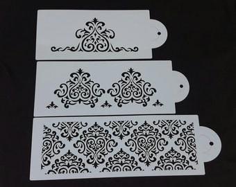 3 Piece Stencil Set