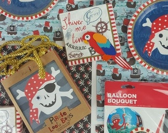 Ahoy it's a Pirate Party Kit