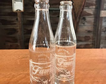 Fawn Beverage Co. Elmira NY, soda bottle - 1950's