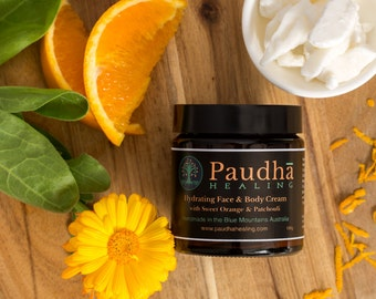 Face and Body Cream, with Sweet Orange & Patchouli