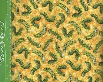 You Bug Me ,Catapillar, on yellow, Paintbrush Studios