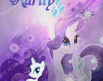 My Little Pony - Rarity 8x10 Print