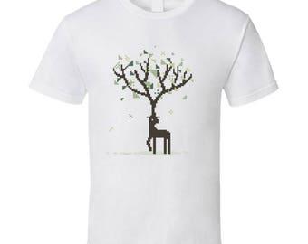 Deer Tree T Shirt