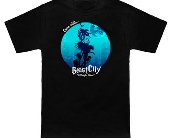 FANTASTIC SUITCASE Geek T-Shirt Beast City Nerd Shirt Wizard Beasts and Where To Find Them Harry Potter Newt Scamander Magizoologist