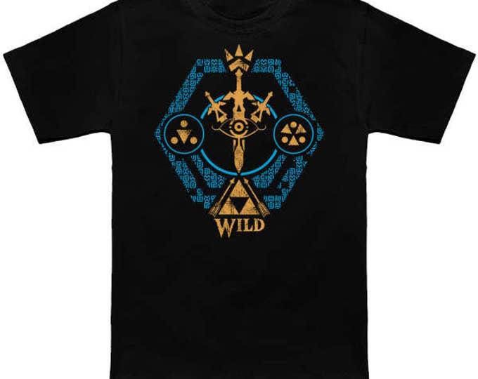 legend-of-zelda botw skyward sword hyrule warriors zelda shirt --- alternative apparel : Crest of the Wild