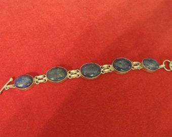 A Blue Lapis Bracelet