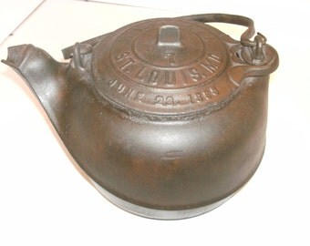 G. F. Filley tea pot