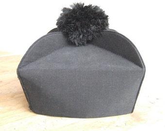 Black Biretta  // Priest hat