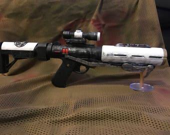 Death Trooper/ Storm Trooper Blaster White Steel Cosplay Star Wars
