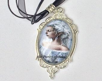 Baroque Cabochon pendant, picture pendant, baroque cabochon,picture cabochon,