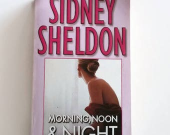 Morning, Noon and Night by Sidney Sheldon   Paperback Crime Thriller