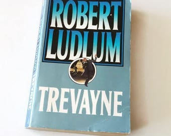 Trevayne by Robert Ludlum  Paperback Book