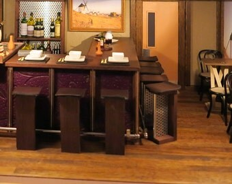 1/12th Restaurant Bar & Stools