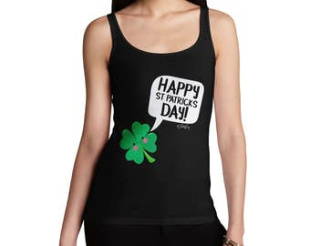 Cute Clover St Patrick's Day Women's Tank Top