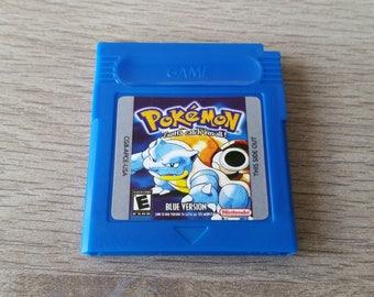 Pokemon Blue Version Gameboy Color - Game Boy Colour - GBC