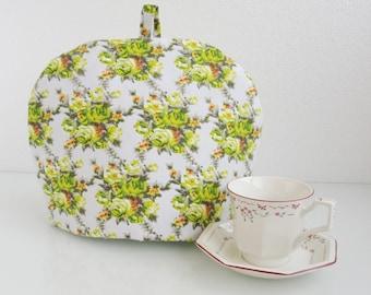 Flower Tea cosy (cosies) Fabric, handmade