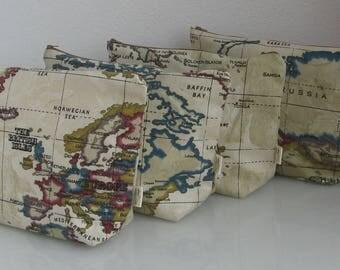 Atlas / World Wash/Toiletry/Travel bag