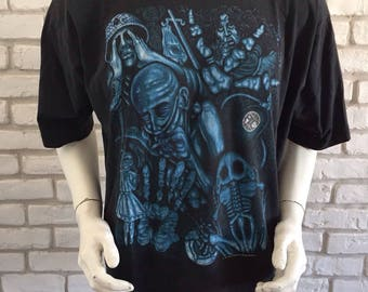 Vintage Alice in chains 1993 european tour shirt very rare