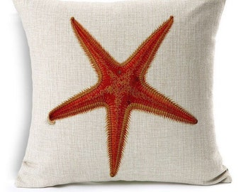 Starfish Pillow Case Cover