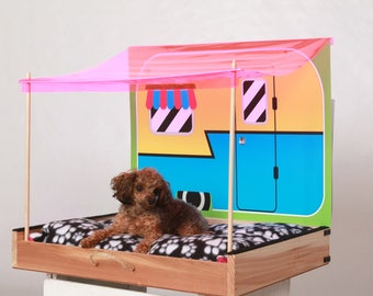 Camper Pet Bed