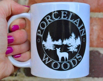 Porcelain Woods Mug