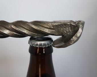 Twisted Rail Spike Bottle Opener